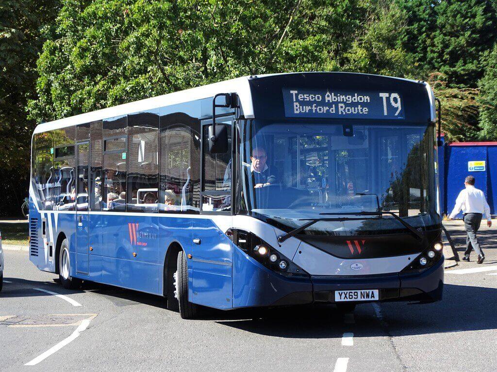 41 seat Luxury Shuttle bus
